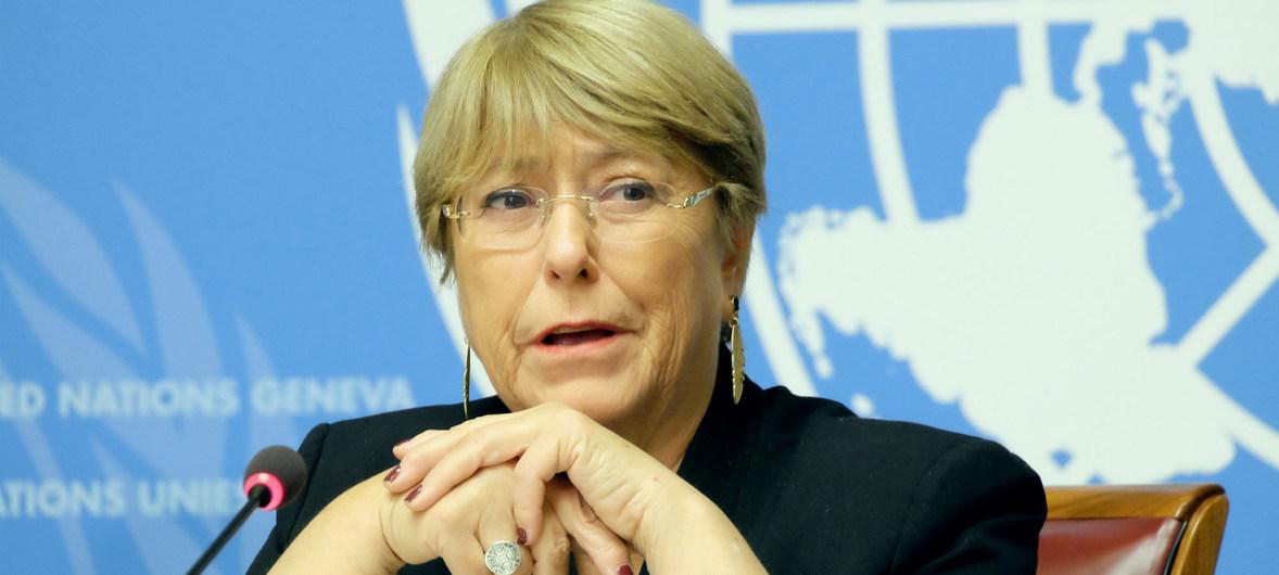 """Bachelet : """"La pandemia del Covid-19, ha provocado mayores restricciones del espacio cívico y democrático en Nicaragua"""""""