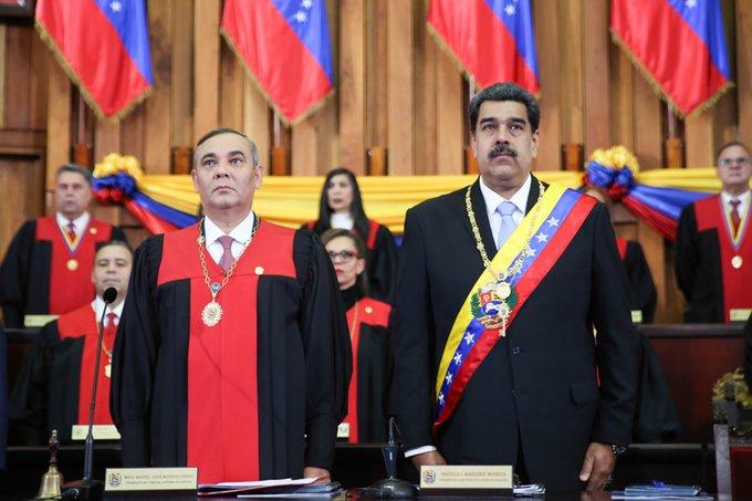 Estados Unidos ofrece 5 millones de dólares por Maikel Moreno, presidente del Tribunal de Justicia de Venezuela