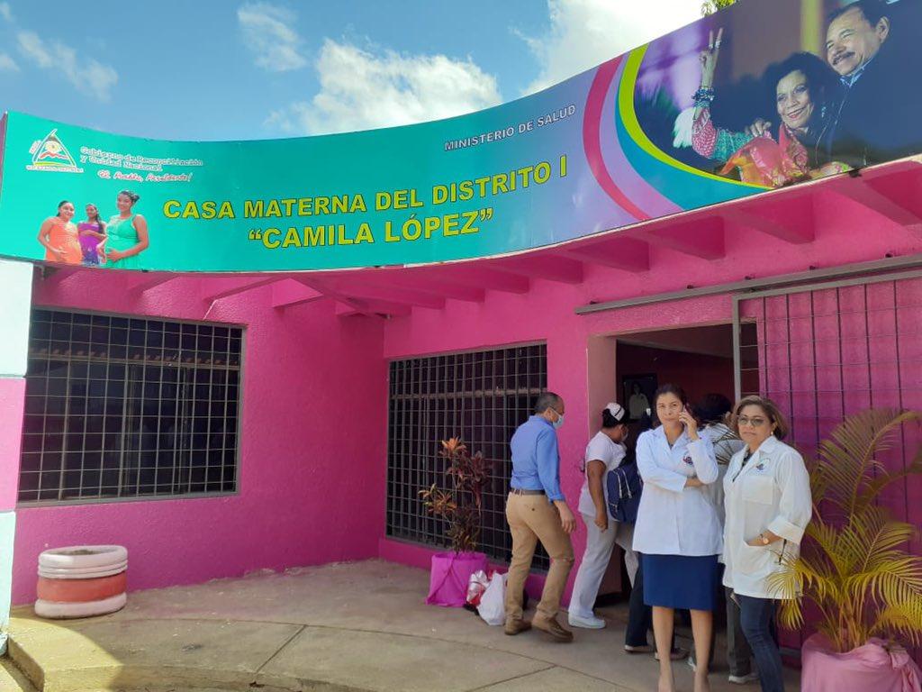 MINSA inaugura casa materna en edificio confiscado a Confidencial