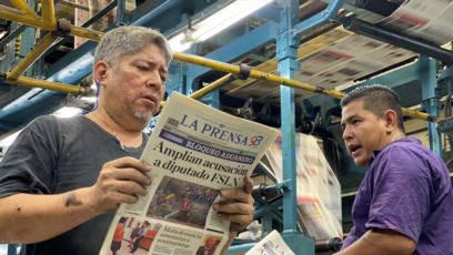 La Prensa confirma que al menos 80 toneladas de papel  están infectadas de polilla
