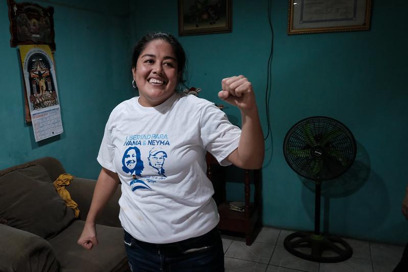 Excarcelada Ivania Álvarez pide la libertad de más de 60 reos políticos