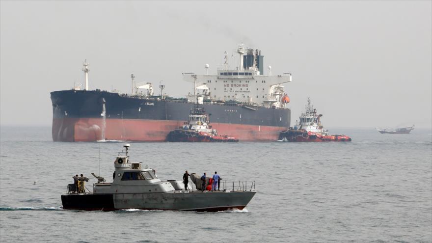Estados Unidos sancionó a capitanes de buques petroleros iraníes por nexos con Nicolás Maduro
