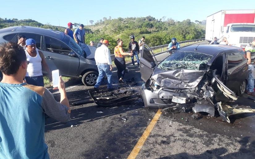 En Nicaragua ocurren 100 accidentes de tránsito por día