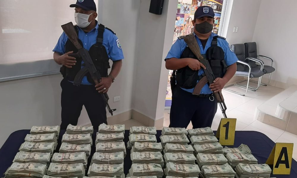 """Policía sigue decomisando millonarias sumas de """"Narcodólares"""""""