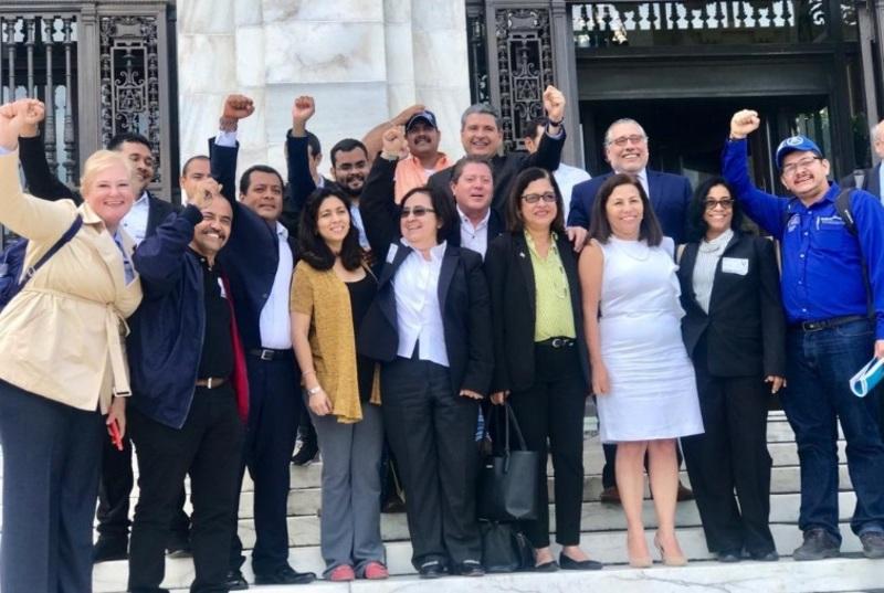 Opositores nicaragüenses se reúne con congresistas EEUU