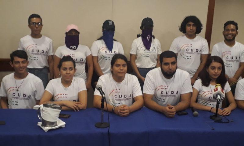 Coordinadora Universitaria se retira de la Alianza Cívica
